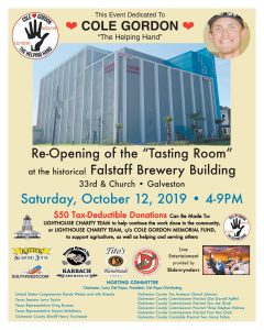 Tasting Room Fundraiser in Memory of Cole Gordon