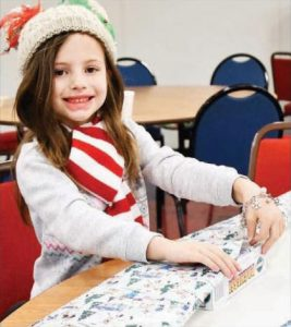 Lighthouse Charity Team and Galveston Blue Santa Event